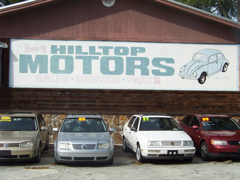We are the come to g uys in for Hilltop motors jacksonville fl